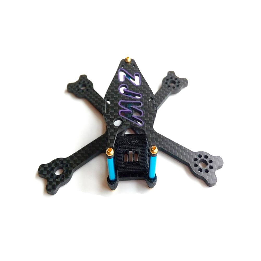 multi-rotor-parts 95mm Micro FPV Racing Frame Carbon Fiber 14g Supports 2 Inch Propeller For RC Drone RC1326234 3