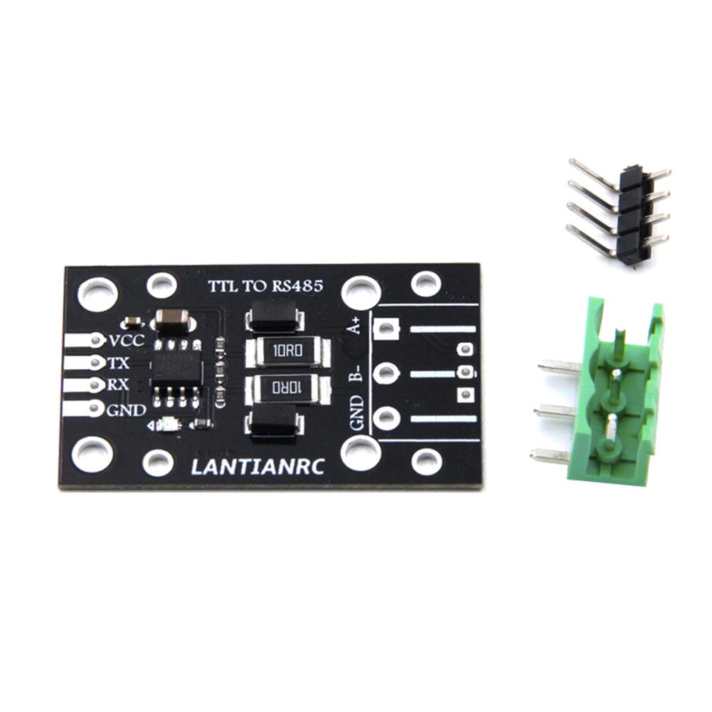 multi-rotor-parts Lantianrc TTL to RS485 485 to Serial UART Level Converter Module Automatic Flow Control for RC Drone RC1328456 3