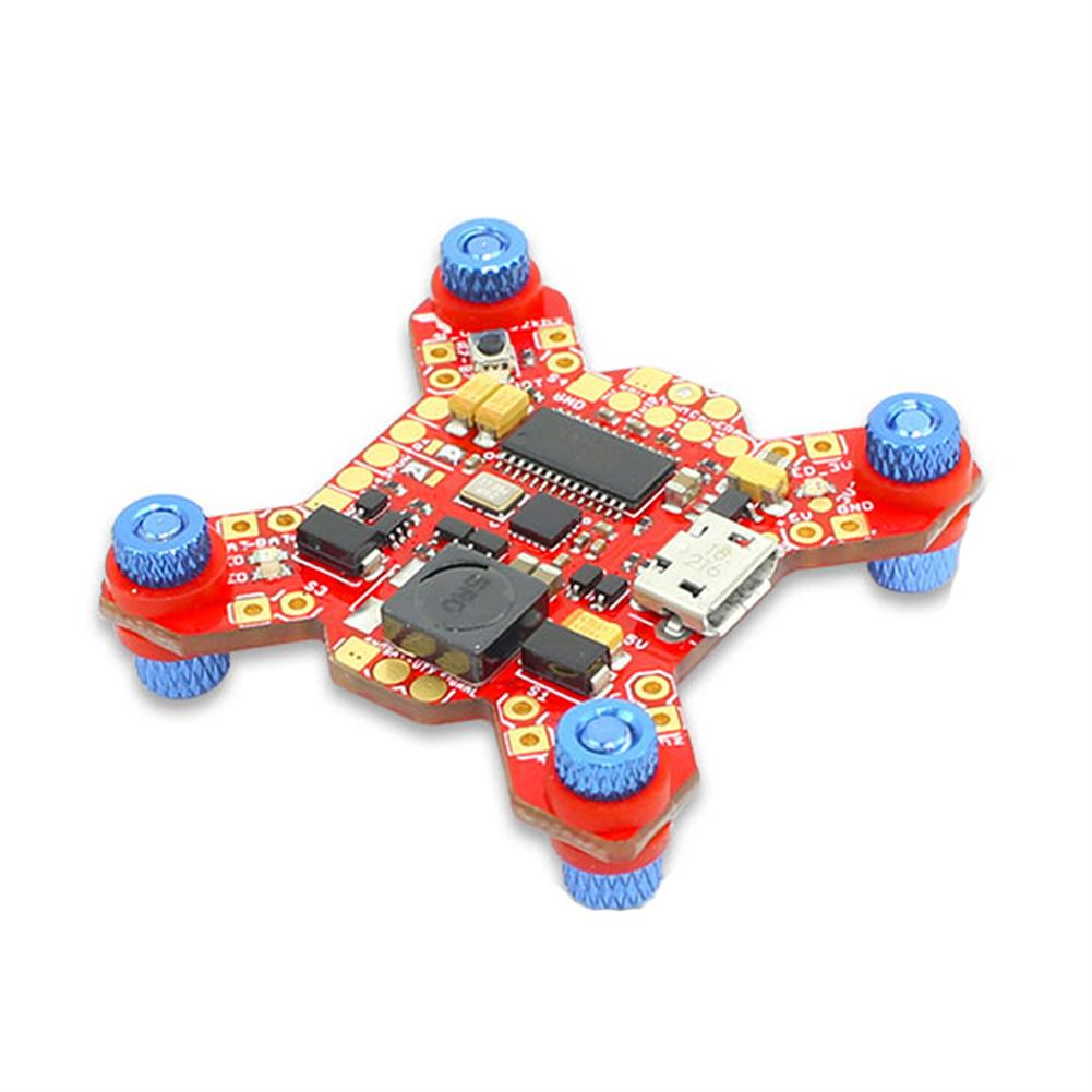 multi-rotor-parts Furious FPV FORTINI F4 32Khz 16MB Flight Controller with OSD Rev.2 5V 2A BEC for RC Drone FPV Racing RC1331489 2