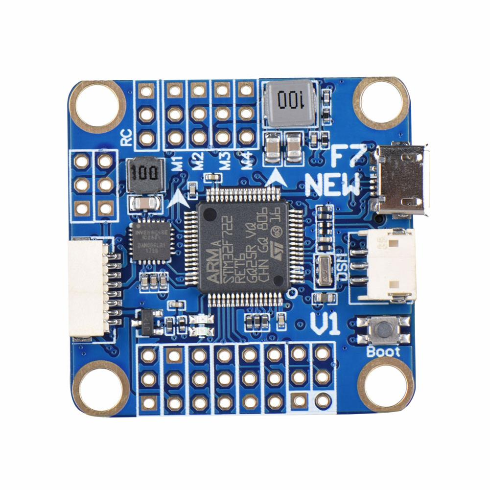 multi-rotor-parts F7 V1 Flight Controller STM32F722 5V/3A BEC w/ OSD Barometer for FPV Racing Drone 30.5X30.5mm RC1331492