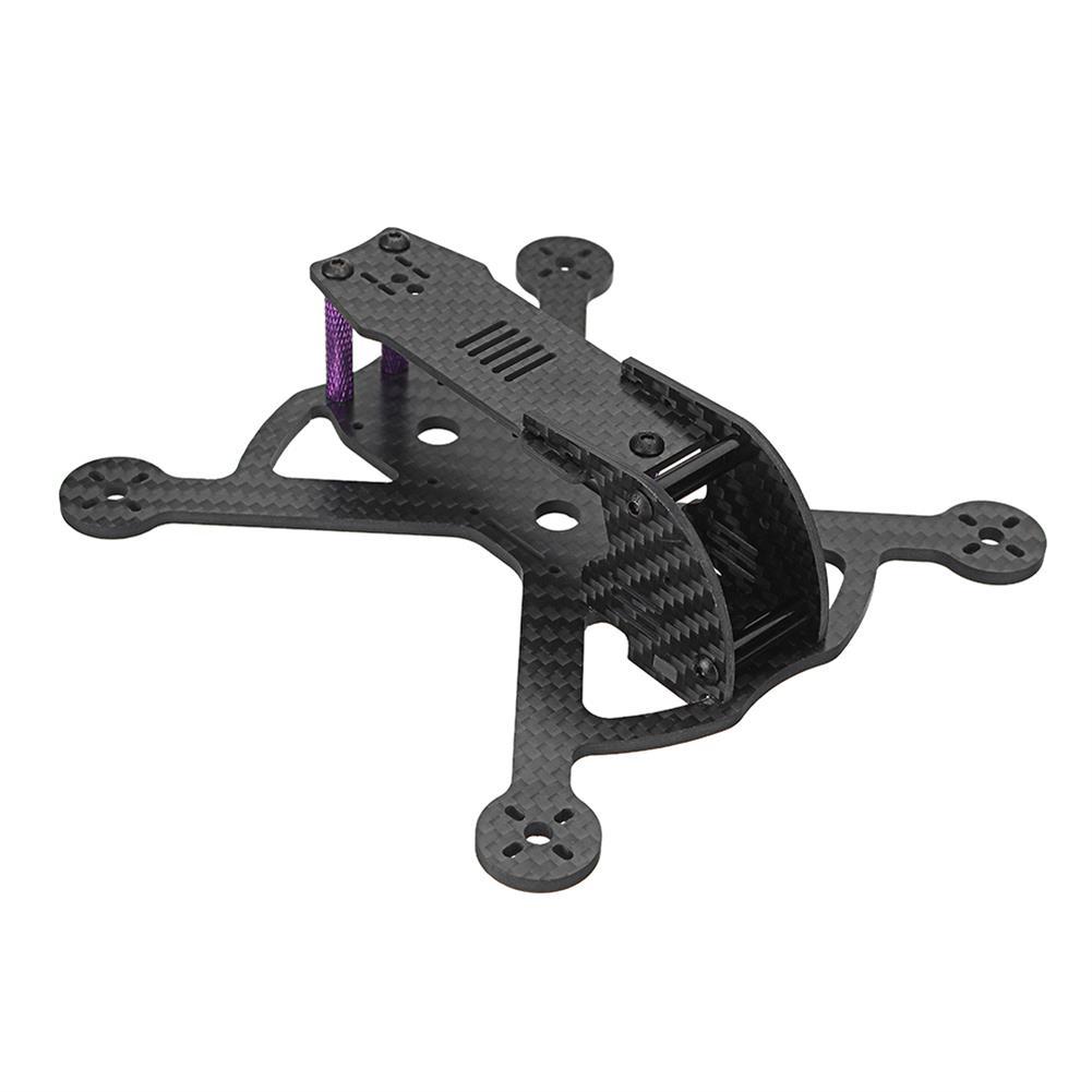 multi-rotor-parts URUAV Pob150 150mm Wheelbase 3 Inch Carbon Fiber Frame Kit FPV RC Drone RC1331999 1