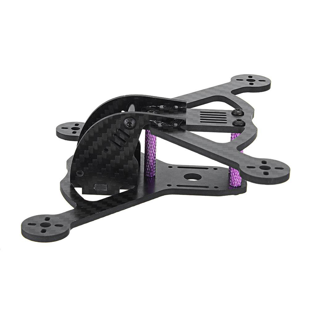 multi-rotor-parts URUAV Pob135 135mm Wheelbase 3 Inch Carbon Fiber Frame Kit for FPV RC Drone RC1332000 3