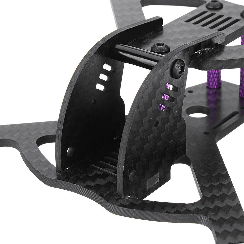 multi-rotor-parts URUAV Pob135 135mm Wheelbase 3 Inch Carbon Fiber Frame Kit for FPV RC Drone RC1332000 7
