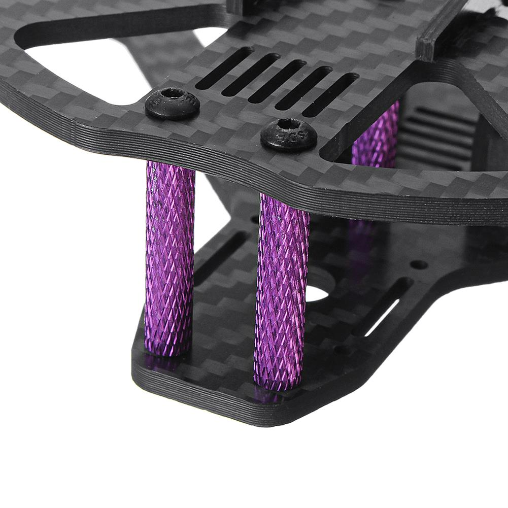 multi-rotor-parts URUAV Pob135 135mm Wheelbase 3 Inch Carbon Fiber Frame Kit for FPV RC Drone RC1332000 8