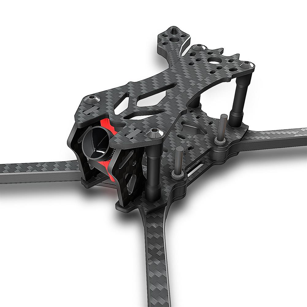multi-rotor-parts AX215 V2 215mm / 230mm Wheelbase 6mm Arm Thickness Carbon Fiber Frame Kit for RC Drone FPV Racing RC1333643 1