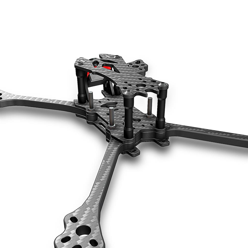 multi-rotor-parts AX215 V2 215mm / 230mm Wheelbase 6mm Arm Thickness Carbon Fiber Frame Kit for RC Drone FPV Racing RC1333643 4