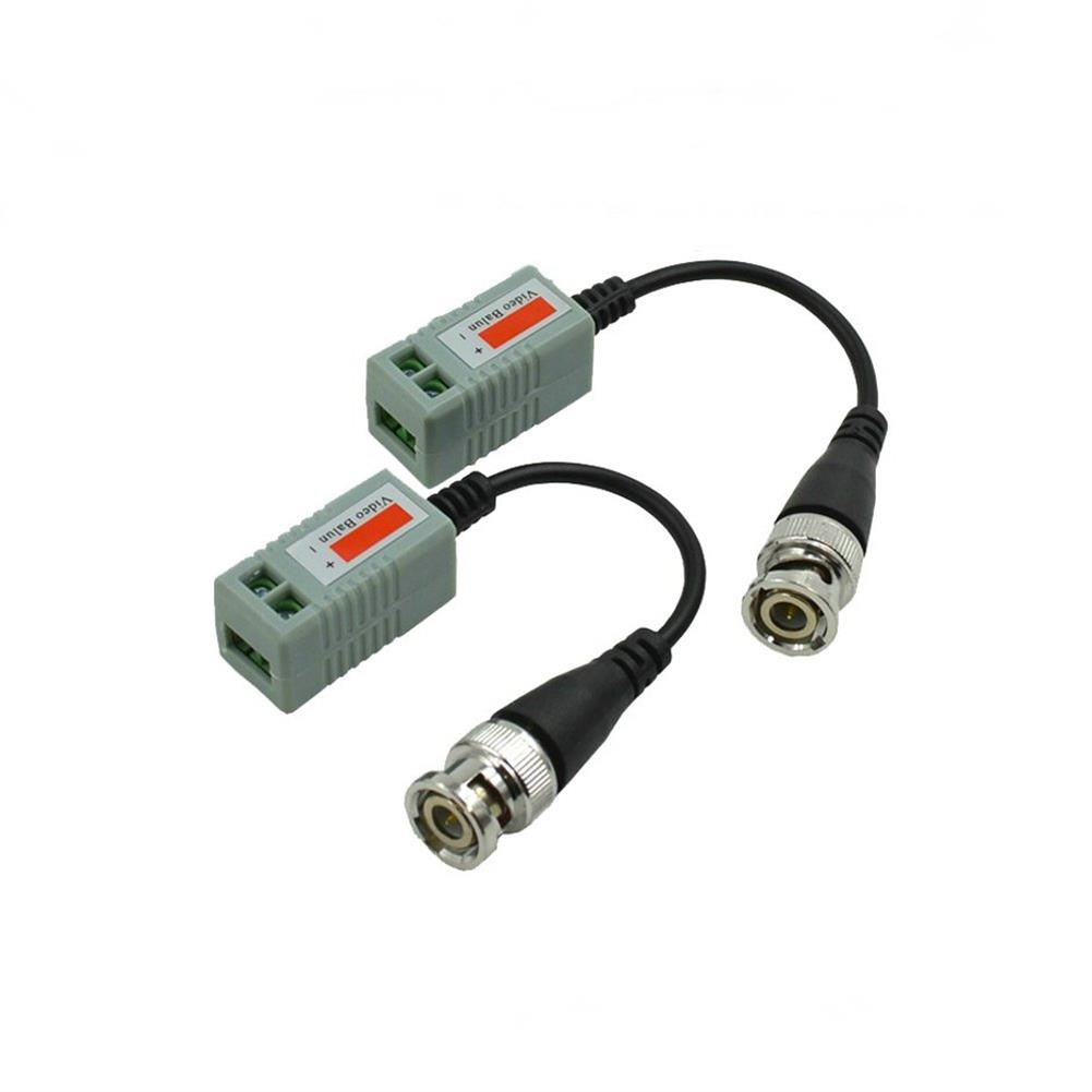 fpv-system 1 Pair Passive Video Transmitter With Twisted-pair Cable and BNC Plug Compatible AHD CVI TVI RC1334039