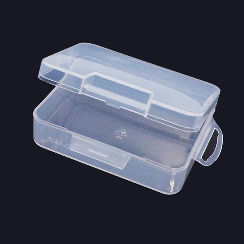 multi-rotor-parts 94mmx69mmx31mm PP Transparent Plastic Mini Storage Screw Box For Screws Nuts Spare Parts RC Model RC1338268 1