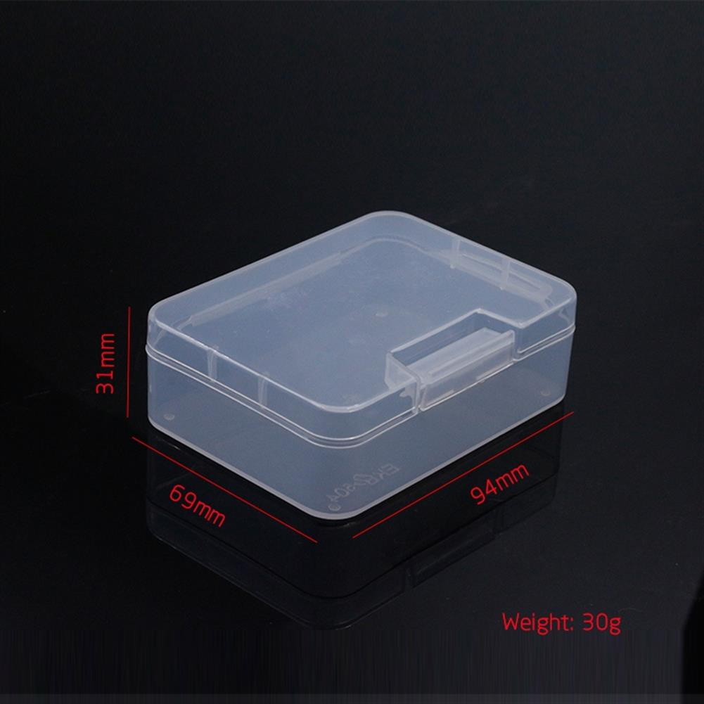 multi-rotor-parts 94mmx69mmx31mm PP Transparent Plastic Mini Storage Screw Box For Screws Nuts Spare Parts RC Model RC1338268 3