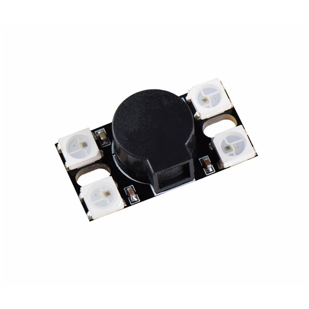 multi-rotor-parts BZ110DB_WS2812 5V 110DB Super Loud Active Buzzer with WS2812 LED Light for RC Drone FPV Racing RC1338878