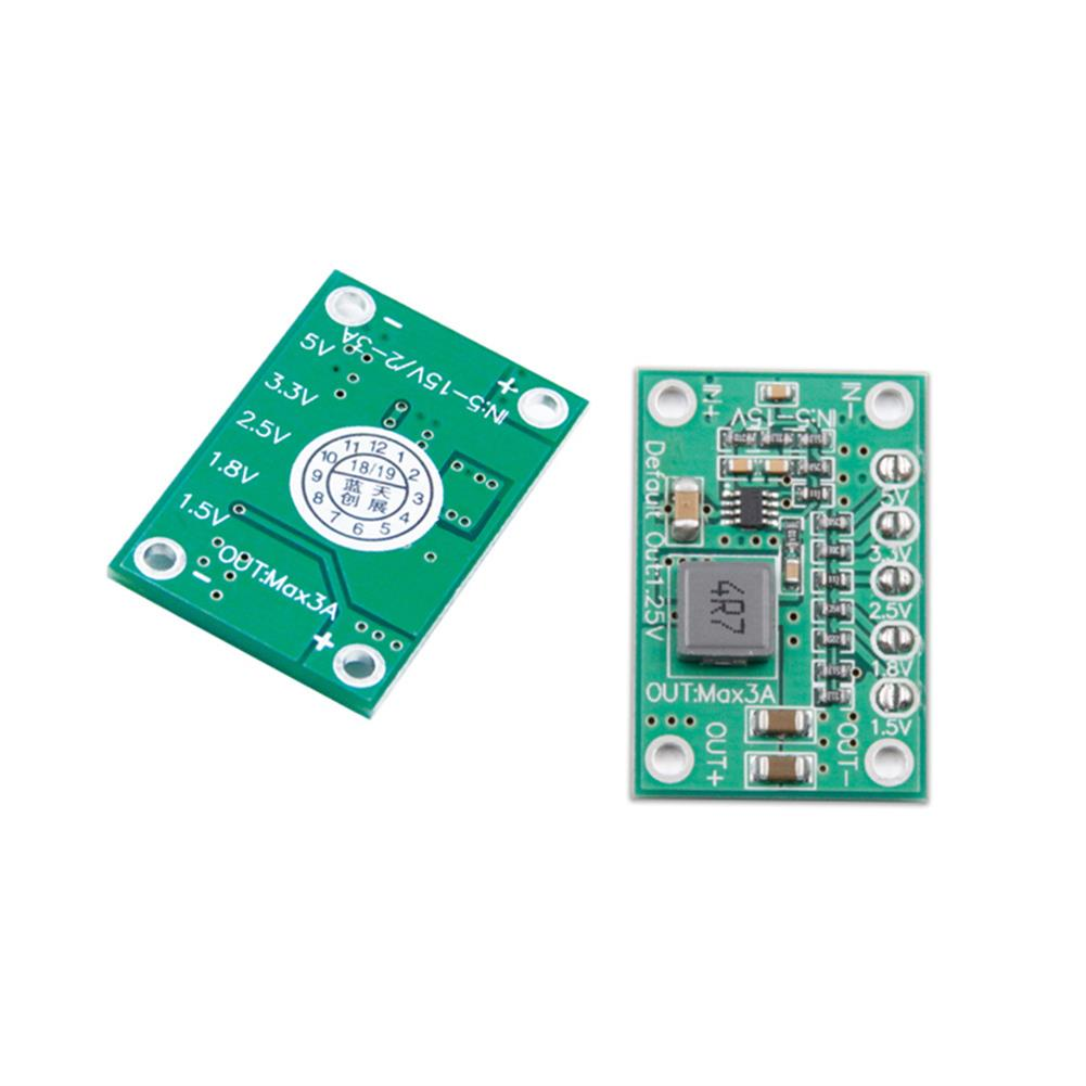 multi-rotor-parts Lantian DC-DC 5-15V to 1.25/1.5/1.8/2.5/3.3/5V Converter Step Down Module BEC for FPV RC Drone RC1339499