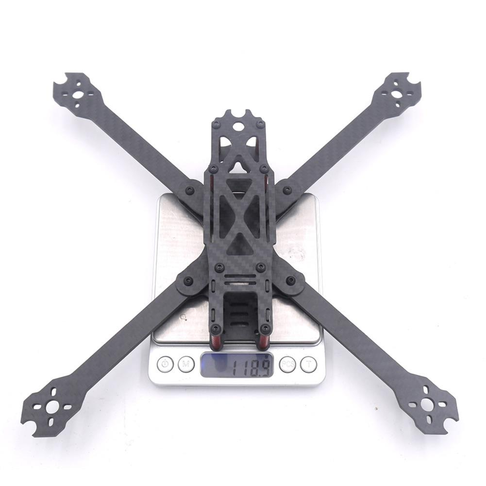 multi-rotor-parts QL7 V2 7 Inch 295mm Wheelbase 4mm Arm Thickness 3K Carbon Fiber Freestyle Frame Kit for RC Drone RC1342189 5