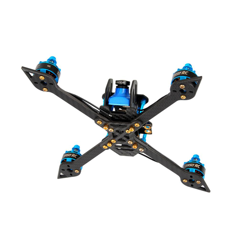 multi-rotor-parts TINSLY-X60 248mm Wheelbase 6 Inch Carbon Fiber Frame Kit 4mm Arm for RC Drone FPV Racing RC1345517 4