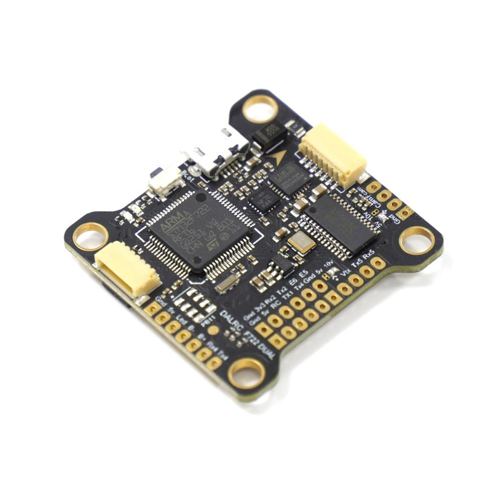 multi-rotor-parts DALRC F722 DUAL STM32F722RGT6 F7 Flight Controller MPU6000 and ICM20602 Built-in OSD for RC Drone RC1346923 1