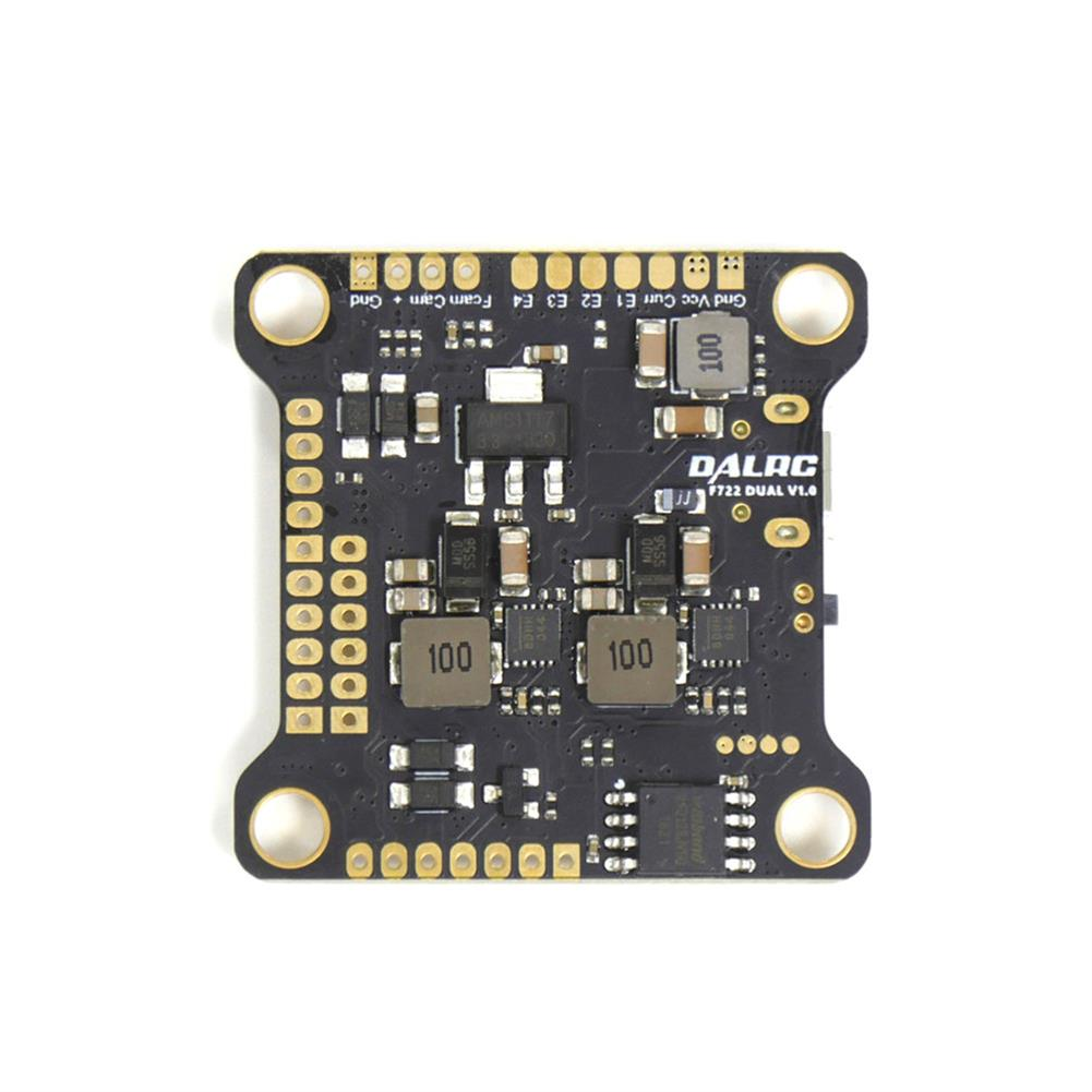 multi-rotor-parts DALRC F722 DUAL STM32F722RGT6 F7 Flight Controller MPU6000 and ICM20602 Built-in OSD for RC Drone RC1346923 3