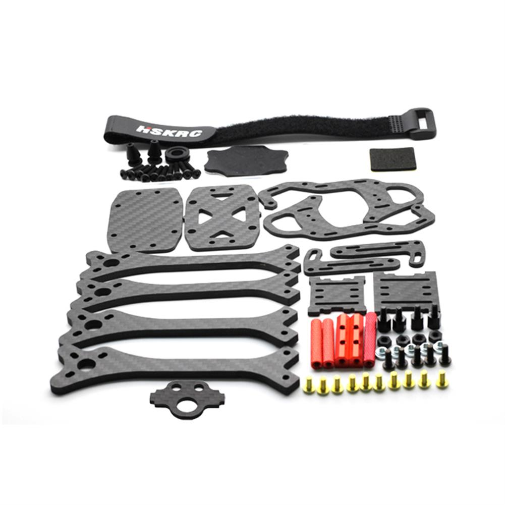 multi-rotor-parts HSKRC 215mm Normal X FPV Racing Frame Kit 4mm Arm Carbon Fiber For RC Drone RC1347494 5