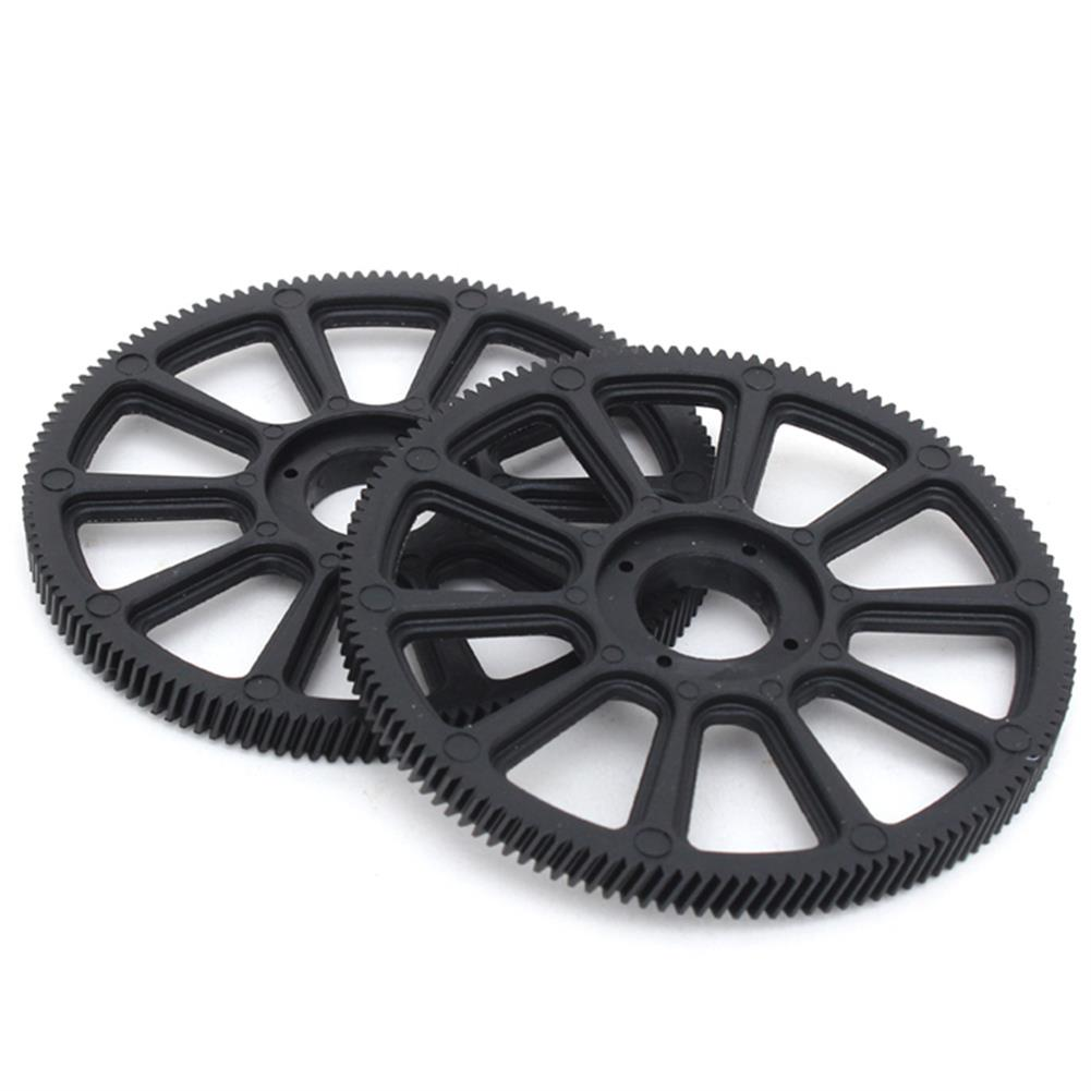 rc-helicopter-parts 1 Pair ALZRC Devil X360 RC Helicopter 131T Slant Thread Main Drive Gear Compatible GAUI X3 RC1350518