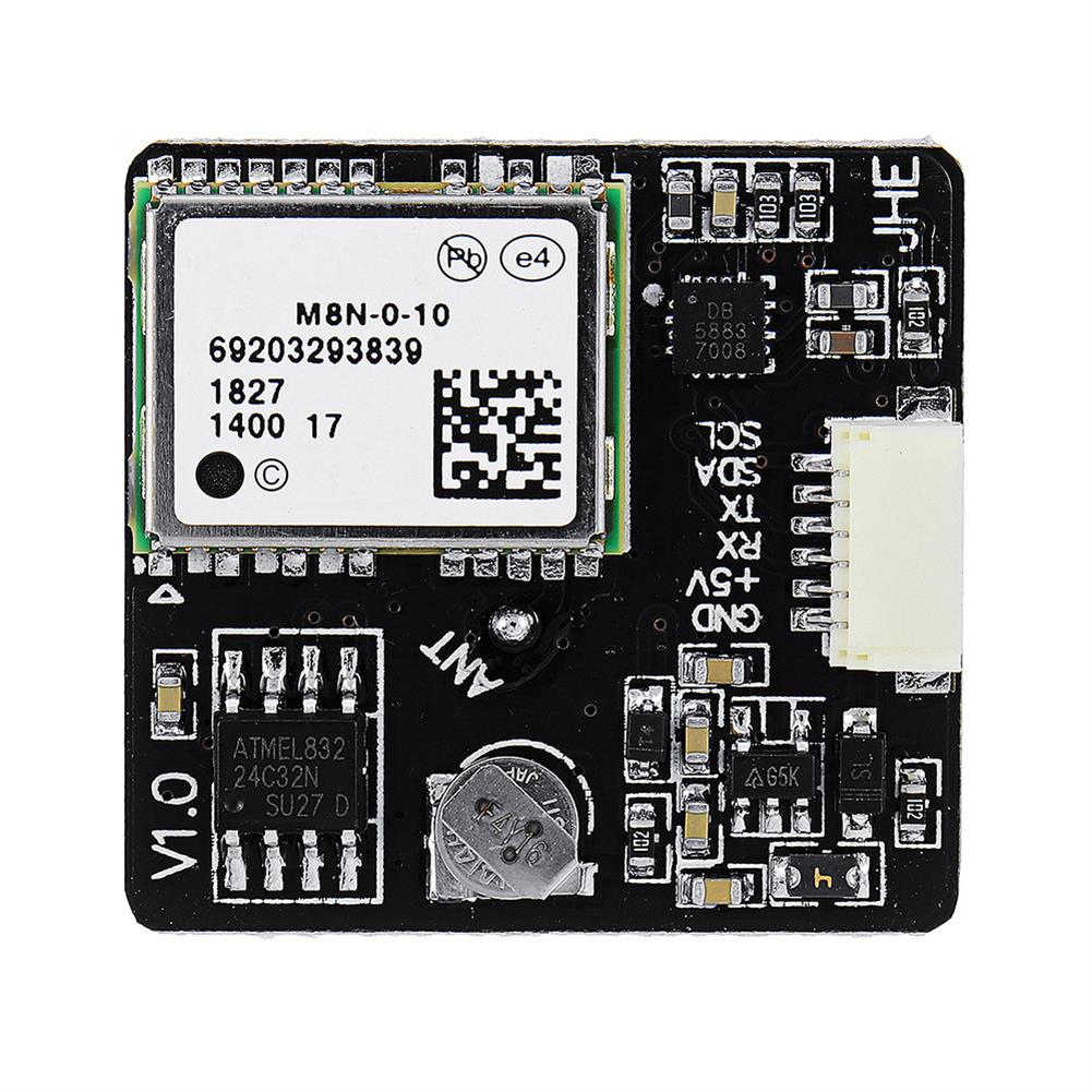 multi-rotor-parts JHE M8N GPS Module Built-in QMC5883 Compass for F3 F4 F7 INAV Flight Controller RC Drone RC1355962