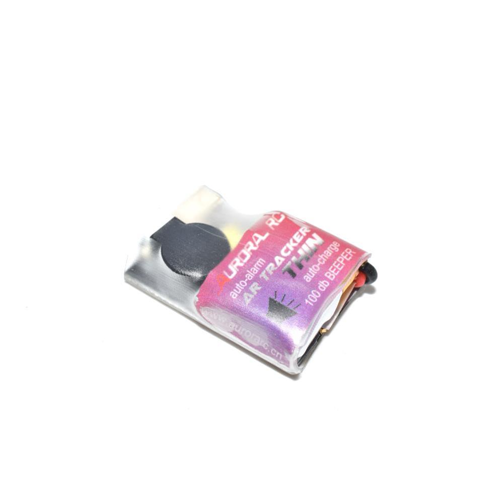 multi-rotor-parts AURORA AR TRACKER THIN Auto-Charge 100dB Beeper Buzzer Built-in Battery for RC Drone FPV Racing RC1358682 1