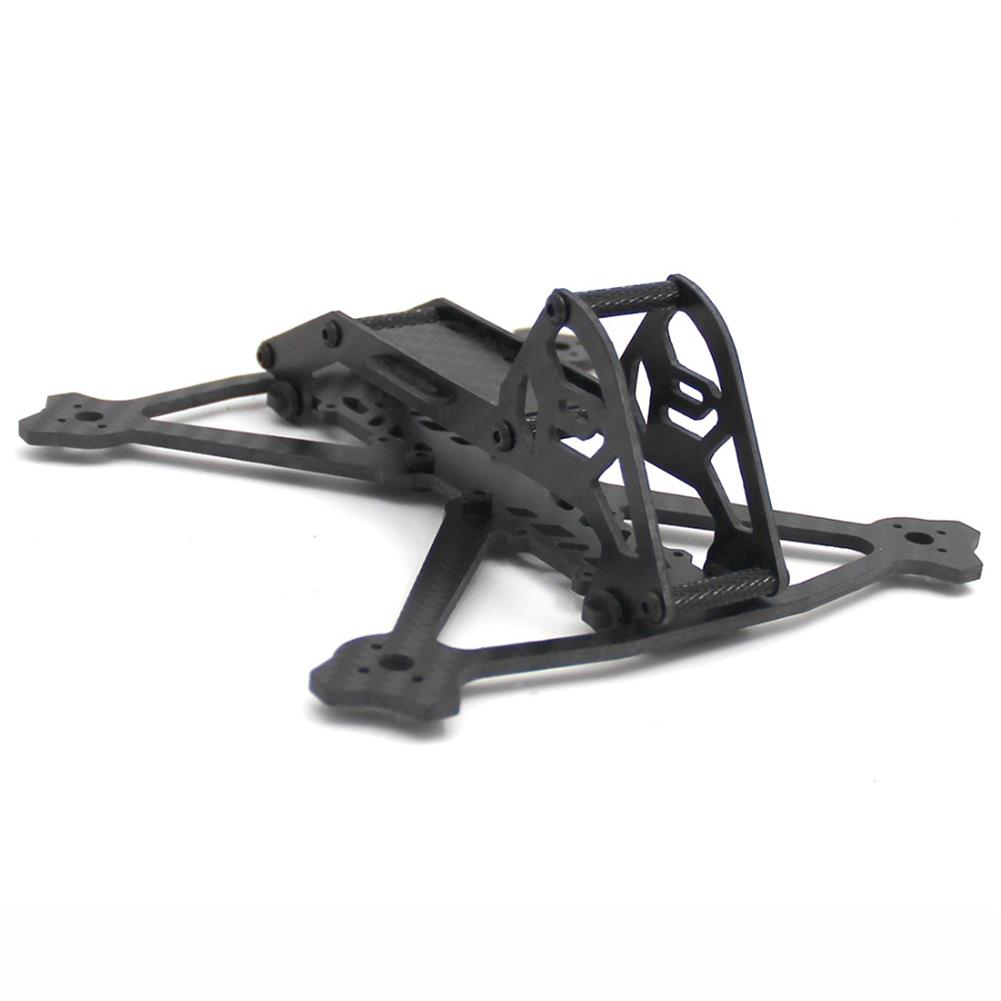 multi-rotor-parts Acro 3 Inch 164mm Wheelbase 3mm Arm Carbon Fiber FPV Racing Frame Kit 52.4g RC1361600