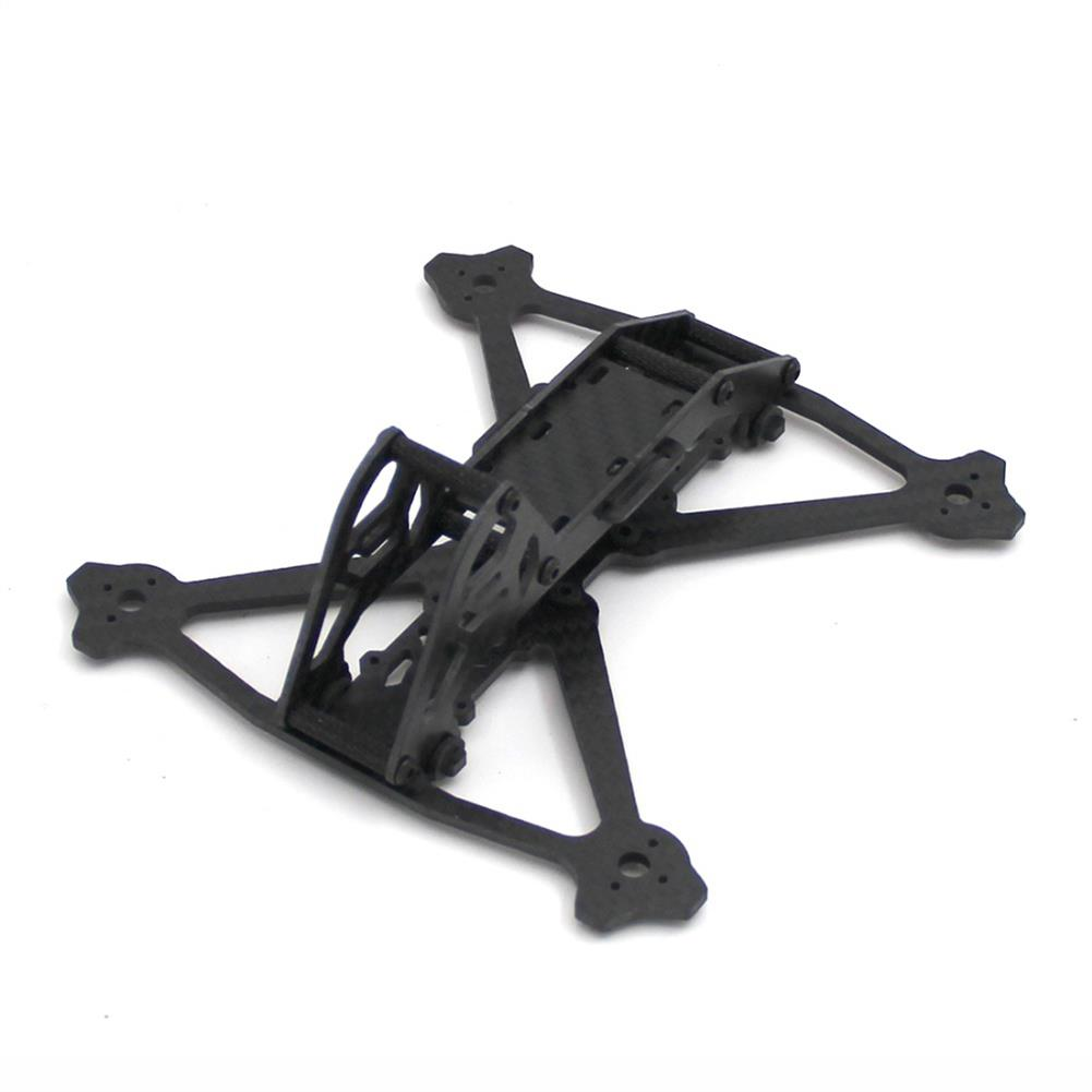 multi-rotor-parts Acro 3 Inch 164mm Wheelbase 3mm Arm Carbon Fiber FPV Racing Frame Kit 52.4g RC1361600 1