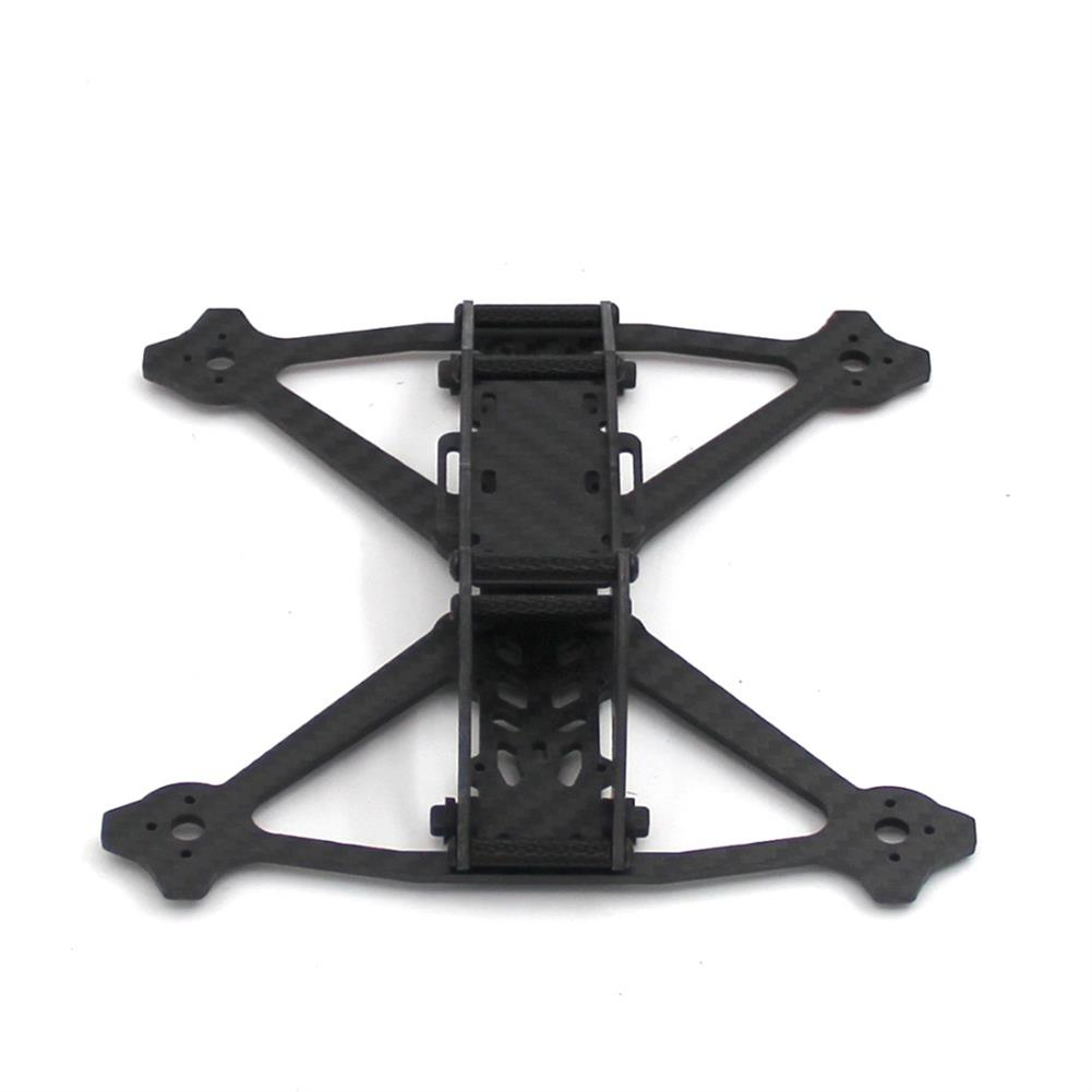 multi-rotor-parts Acro 3 Inch 164mm Wheelbase 3mm Arm Carbon Fiber FPV Racing Frame Kit 52.4g RC1361600 2