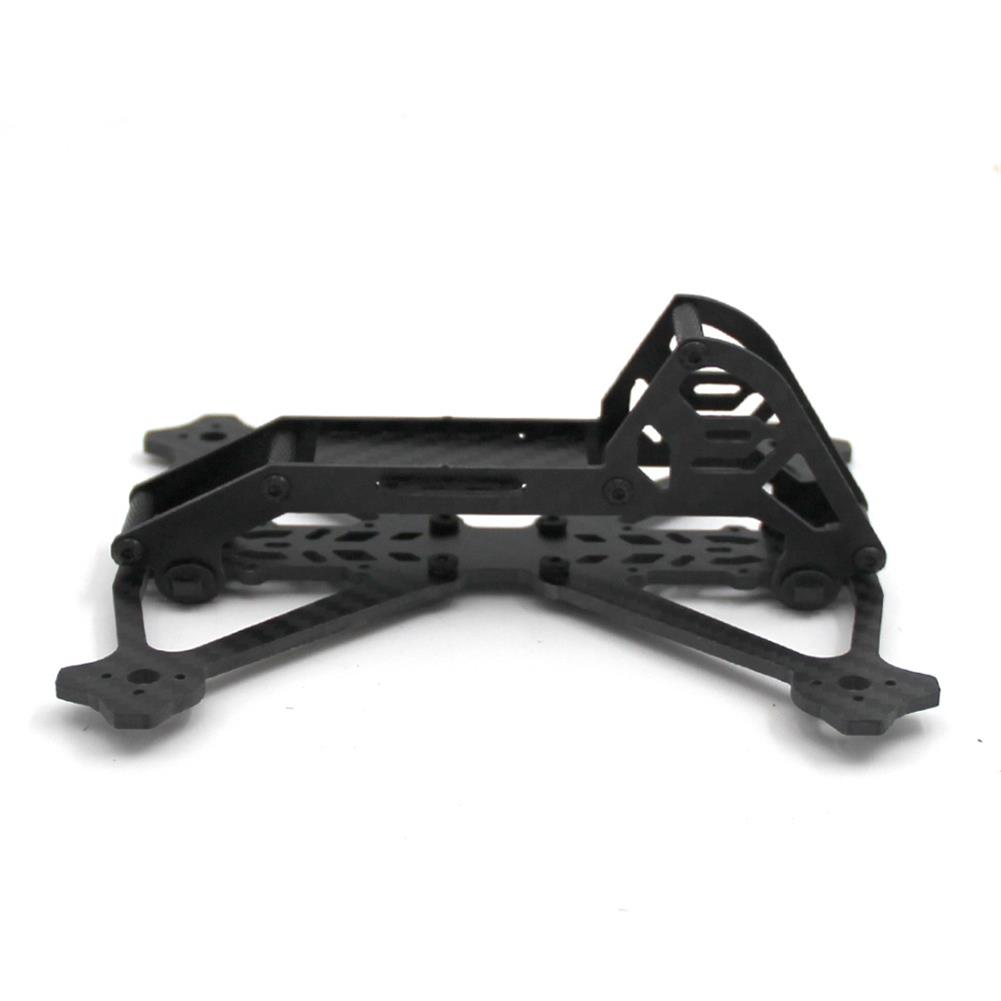 multi-rotor-parts Acro 3 Inch 164mm Wheelbase 3mm Arm Carbon Fiber FPV Racing Frame Kit 52.4g RC1361600 3