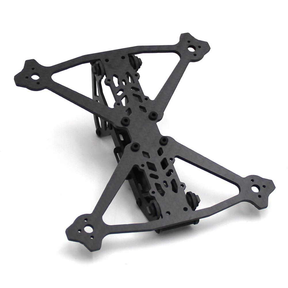 multi-rotor-parts Acro 3 Inch 164mm Wheelbase 3mm Arm Carbon Fiber FPV Racing Frame Kit 52.4g RC1361600 4
