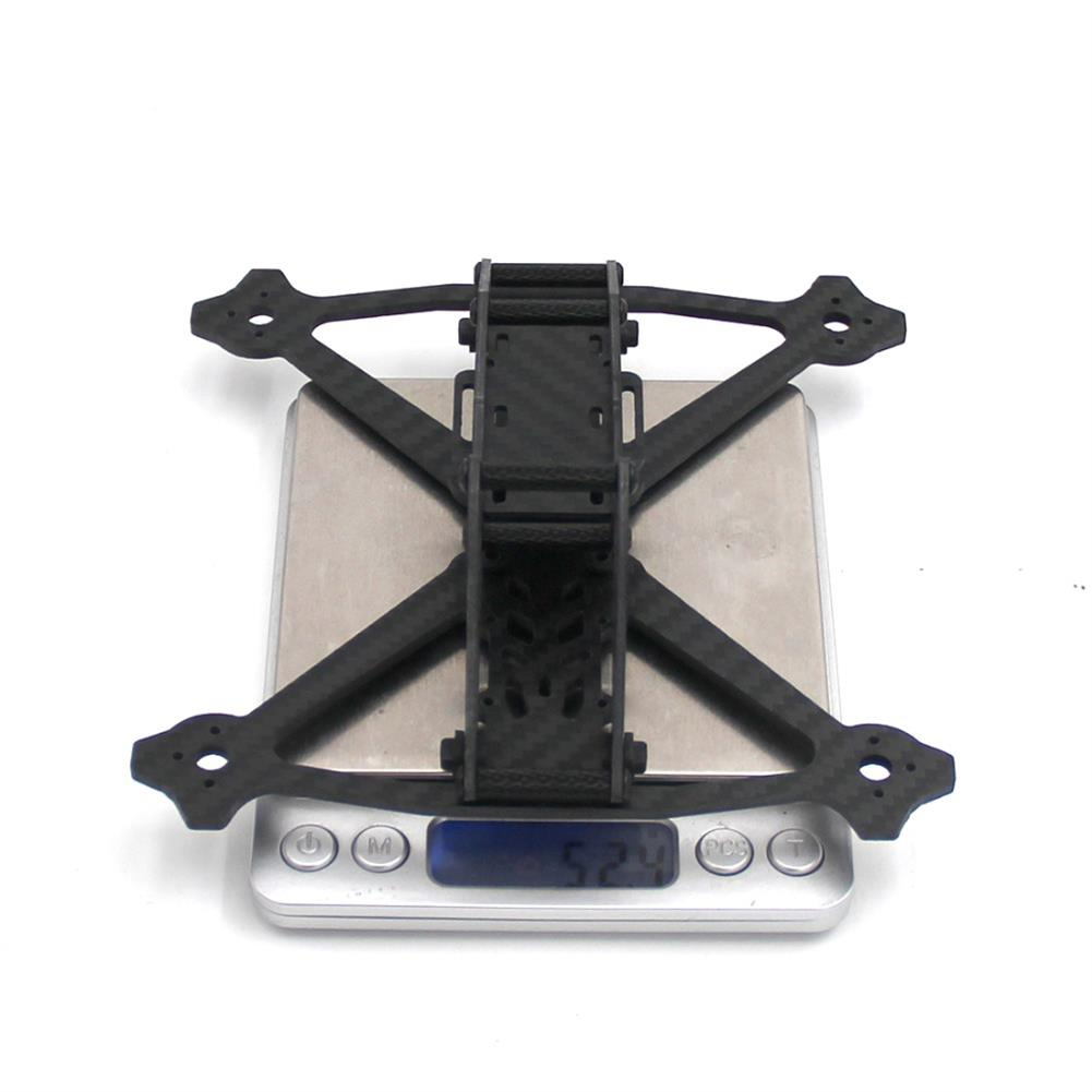 multi-rotor-parts Acro 3 Inch 164mm Wheelbase 3mm Arm Carbon Fiber FPV Racing Frame Kit 52.4g RC1361600 5