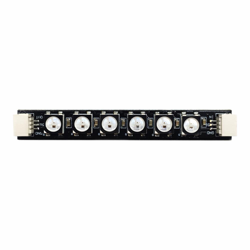 multi-rotor-parts HGLRC 2-6S Power Distribution Board PDB 5V/12V BEC w/ Single Row LED Strip 12V Output LED (28%Coupon: 28rc) RC1362235 3