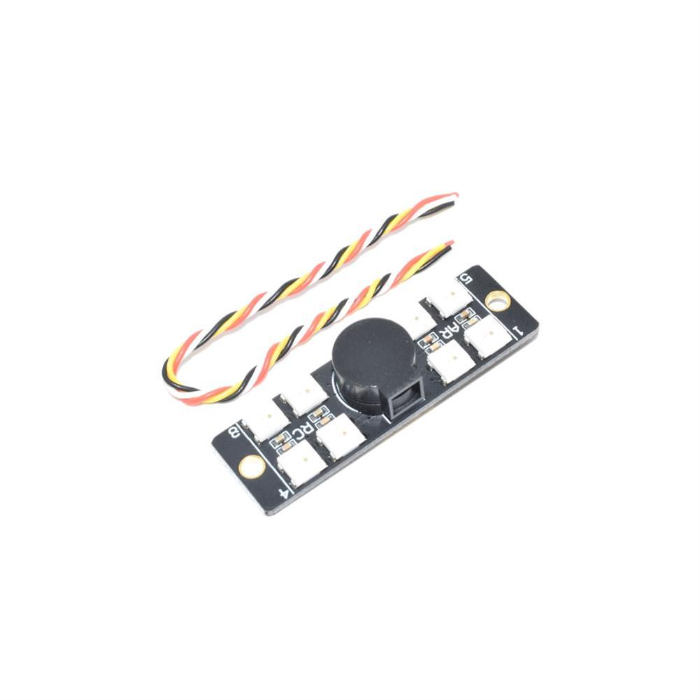 multi-rotor-parts AURORA 110DB8LED Multirotor Tailight 110DB Buzzer WS2812 LED Board for F3 F4 F7 Flight Controller RC1365151