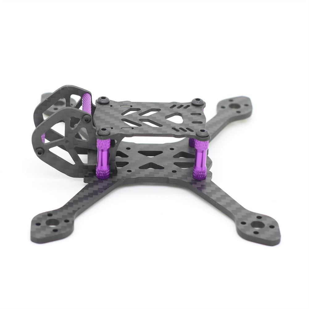 multi-rotor-parts 38g 135mm Wheelbase 3mm Arm Thickness Carbon Fiber Frame Kit for RC Drone FPV Racing RC1365887 2