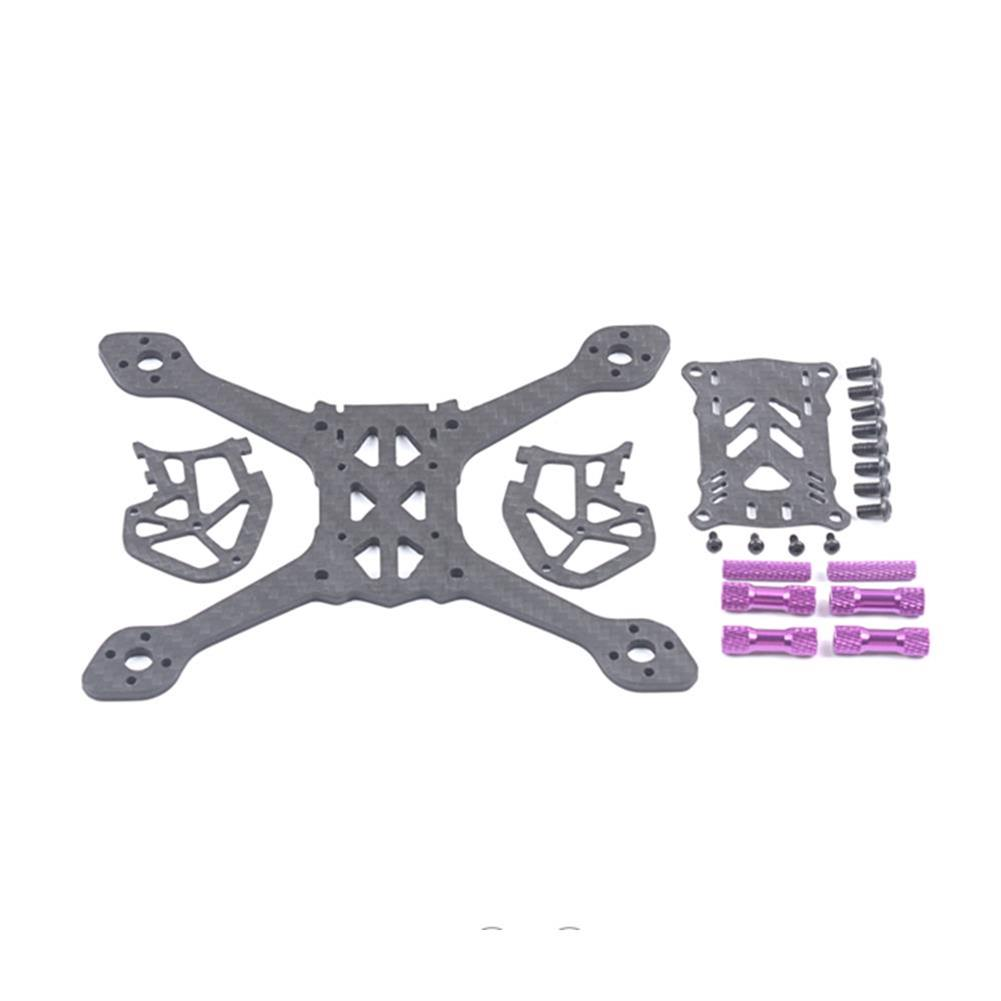 multi-rotor-parts 38g 135mm Wheelbase 3mm Arm Thickness Carbon Fiber Frame Kit for RC Drone FPV Racing RC1365887 4