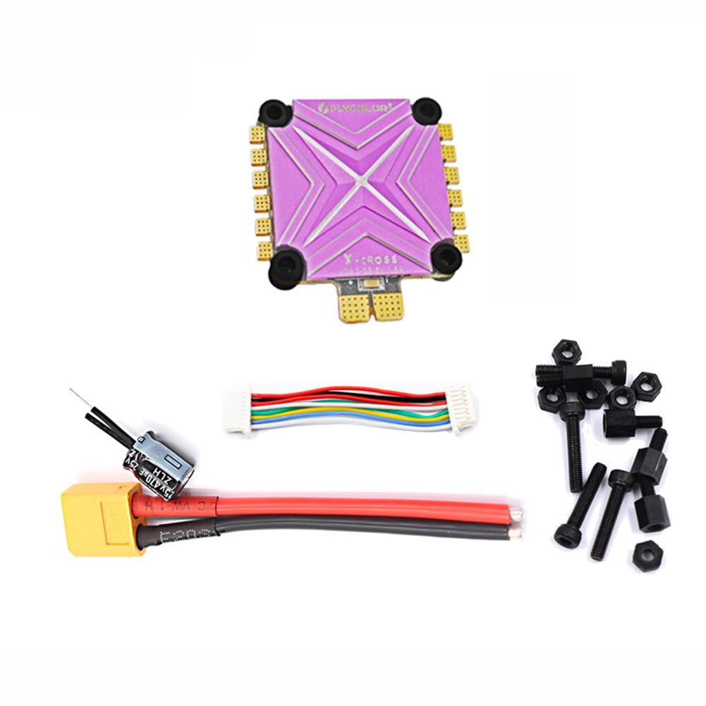 multi-rotor-parts Flycolor X-cross 40A 3-6S Blheli_32 32Bit 5V/1.5A BEC 4 IN 1 FPV Racing Brushless ESC RC1365893 3