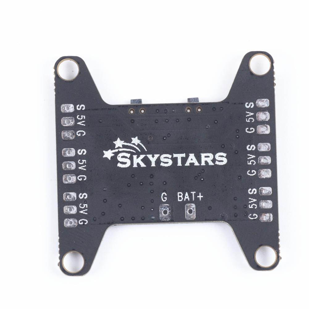 multi-rotor-parts Skystars WS2812 LED Strip Light Controller Board Support 2-6S 7 Color Switchable with 5V BEC for RC Drone RC1366577 1