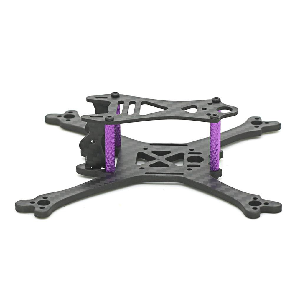 multi-rotor-parts Skystars Bolt X120 120mm Wheelbase 3mm Arm Carbon Fiber Frame Kit for RC Drone FPV Racing RC1366579 2