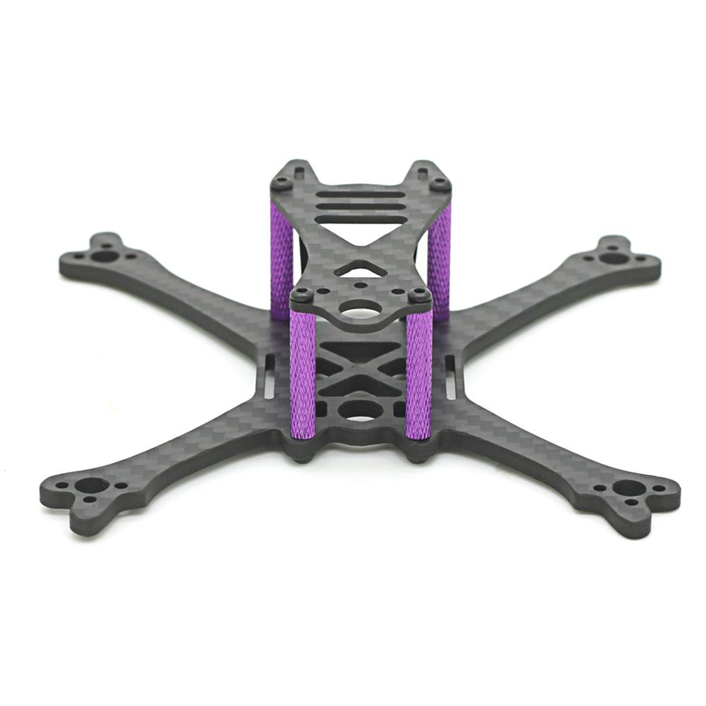 multi-rotor-parts Skystars Bolt X120 120mm Wheelbase 3mm Arm Carbon Fiber Frame Kit for RC Drone FPV Racing RC1366579 3