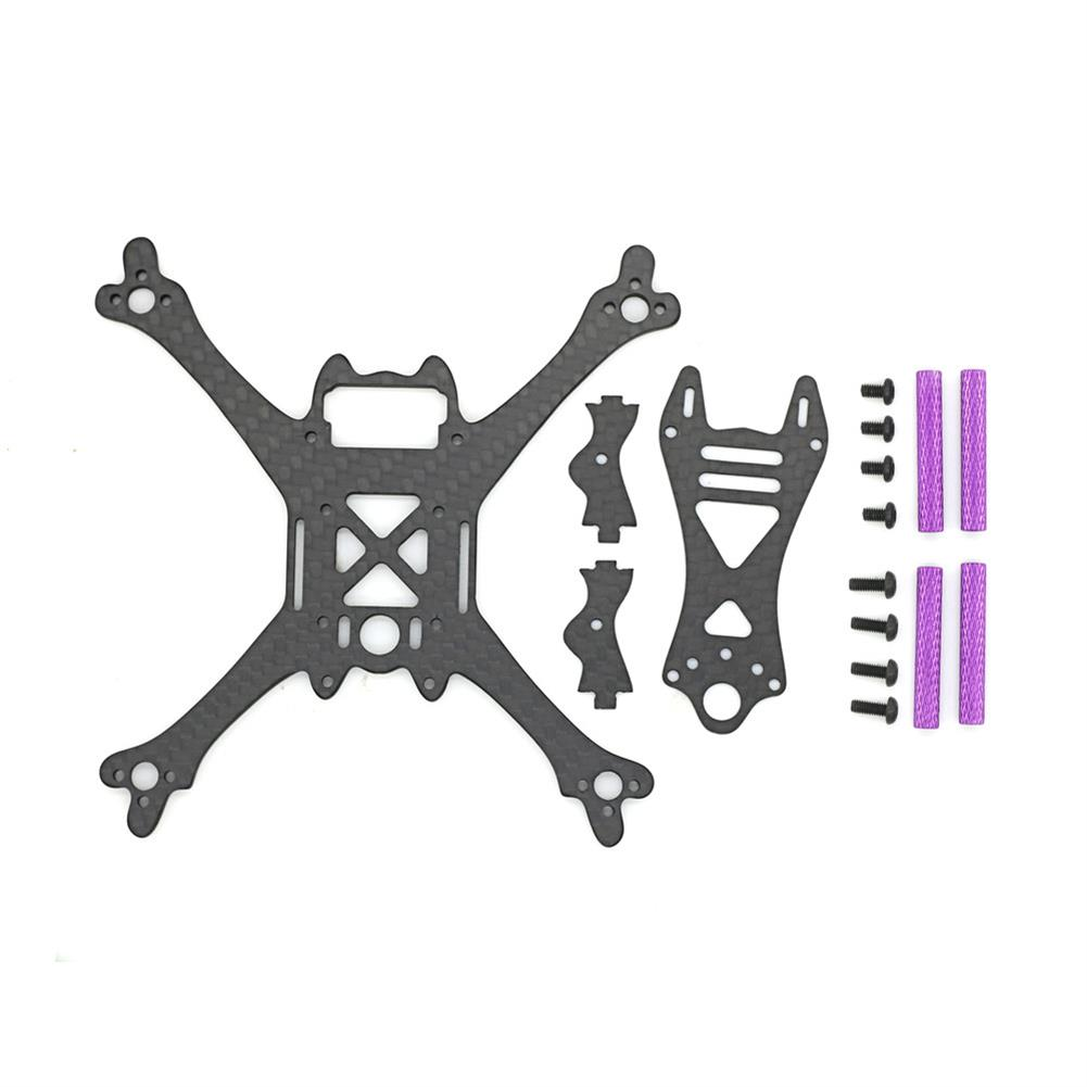 multi-rotor-parts Skystars Bolt X120 120mm Wheelbase 3mm Arm Carbon Fiber Frame Kit for RC Drone FPV Racing RC1366579 6
