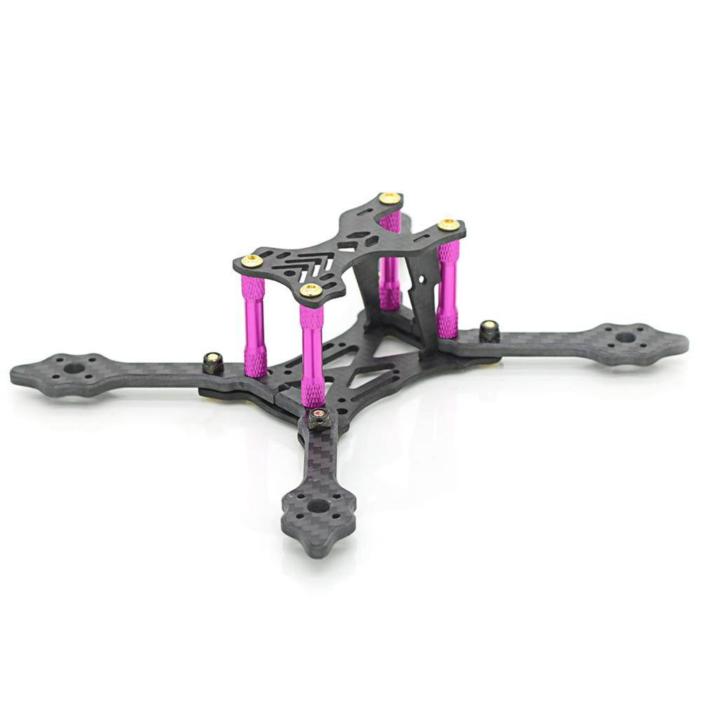 multi-rotor-parts Skystars X140 Pro 140mm Wheelbase 4mm Arm 3K Carbon Fiber Frame Kit for RC Drone FPV Racing RC1366581 2