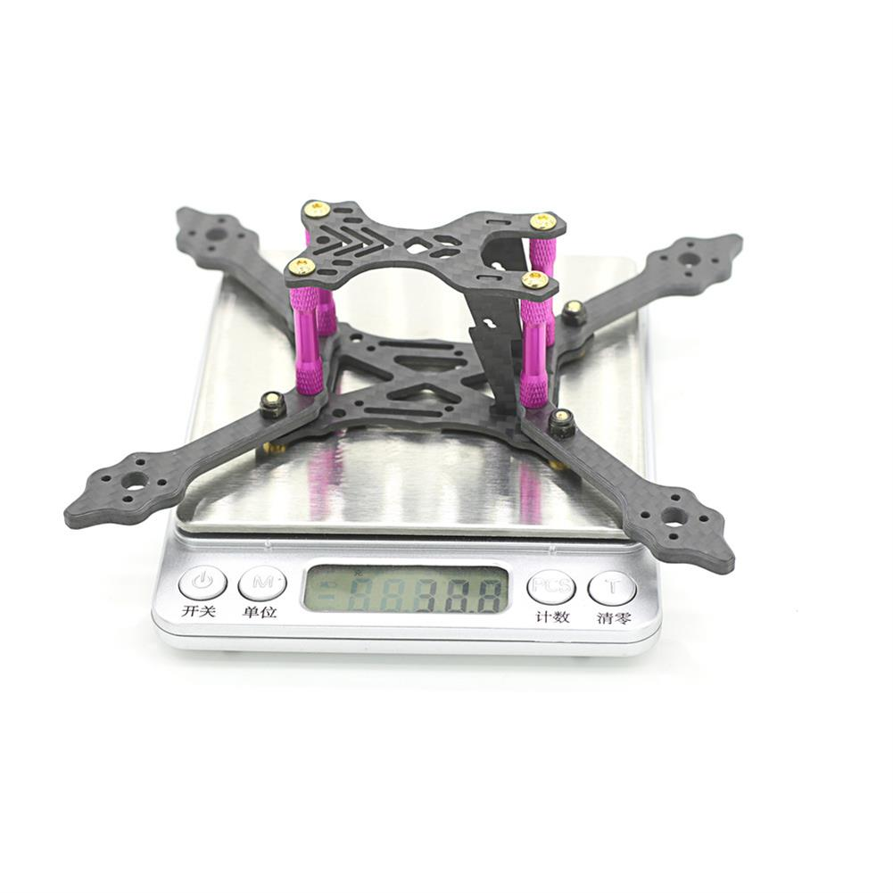 multi-rotor-parts Skystars X140 Pro 140mm Wheelbase 4mm Arm 3K Carbon Fiber Frame Kit for RC Drone FPV Racing RC1366581 4