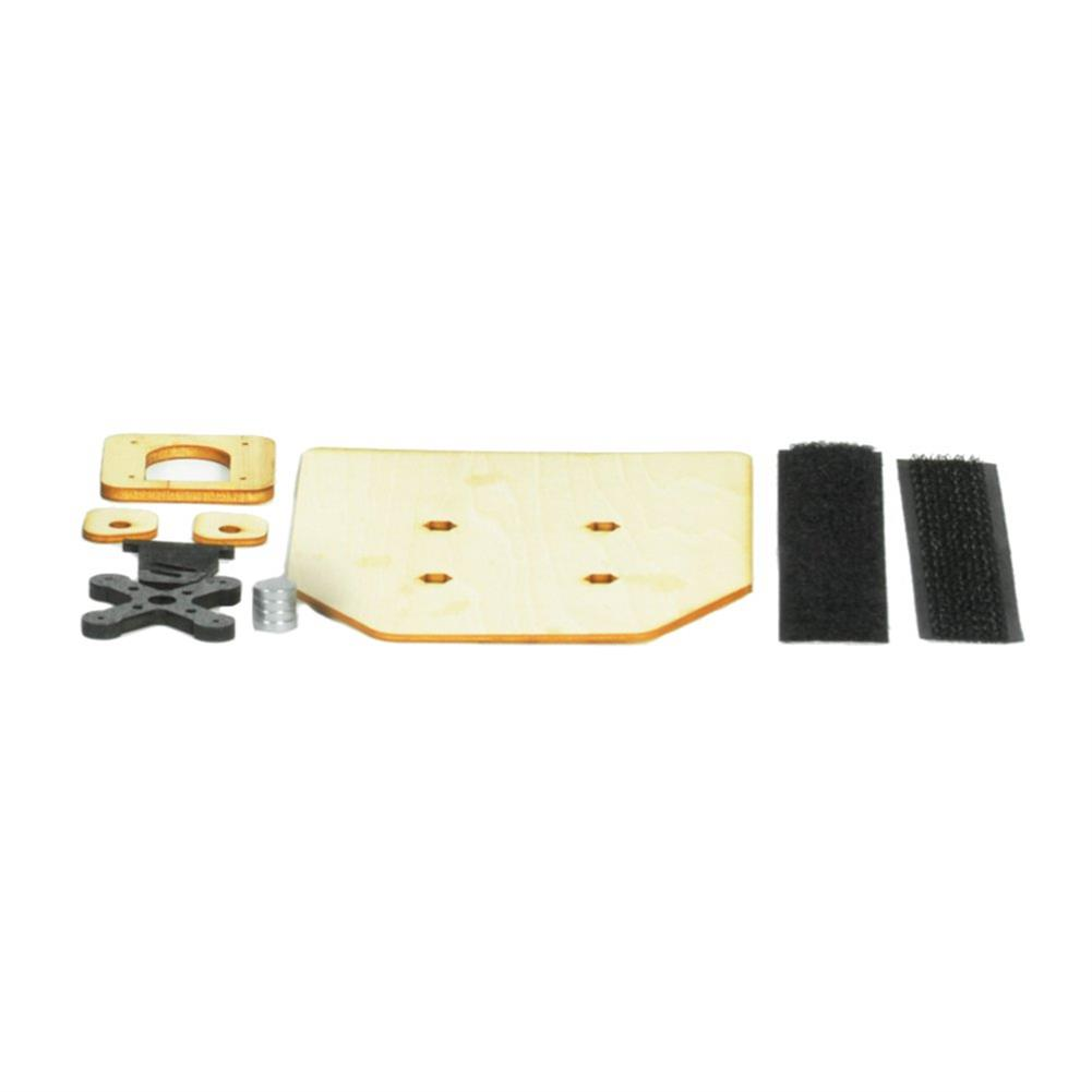 rc-airplane-parts Sonicmodell Mini AR Wing 600mm RC Airplane Spare Part EPP Fuselage With Plywood Magnets Screws RC1367095 2