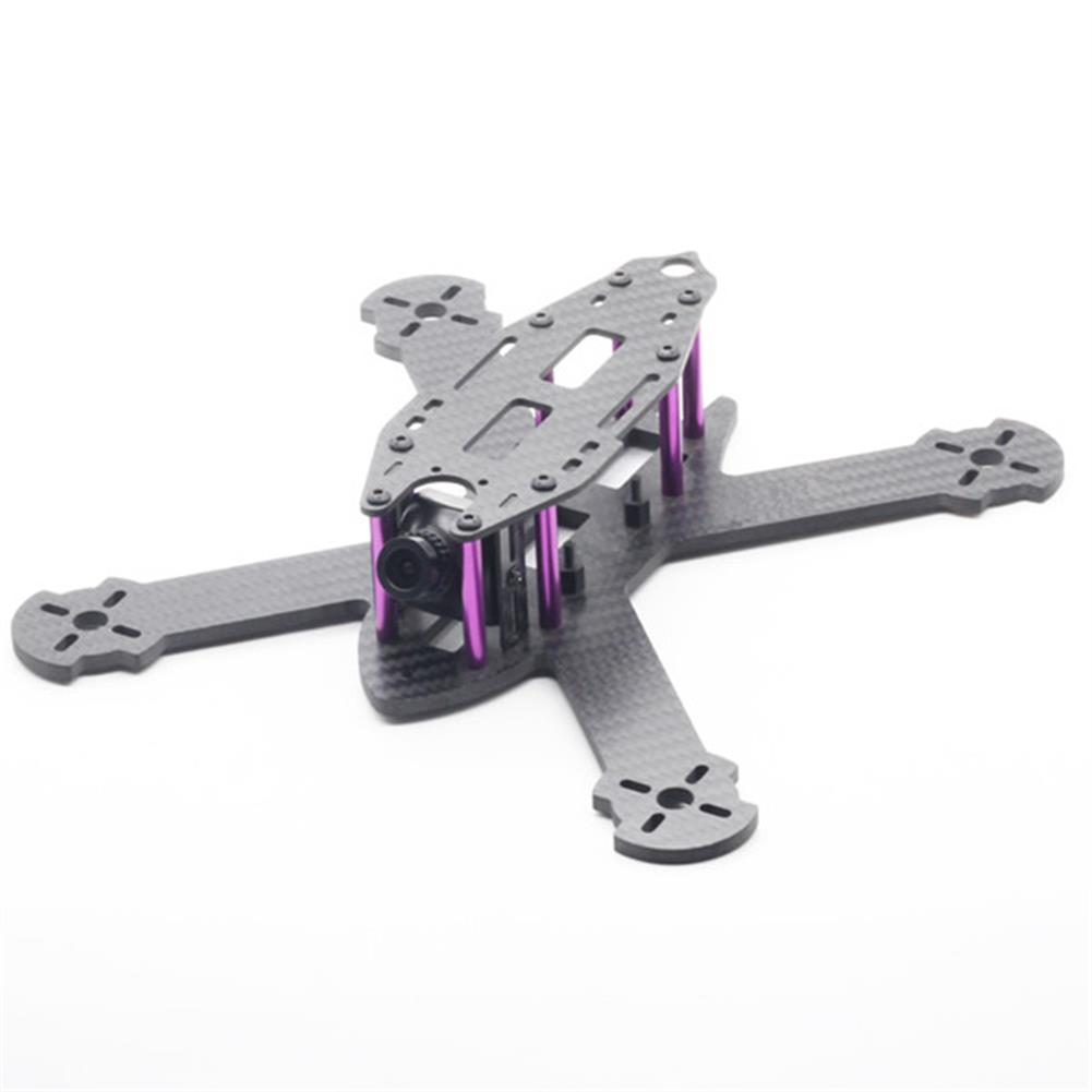 multi-rotor-parts URUAV STAD 210mm Wheelbase 3mm Arm X Type 3K Carbon Fiber FPV Racing Frame Kit for RC Drone RC1371685
