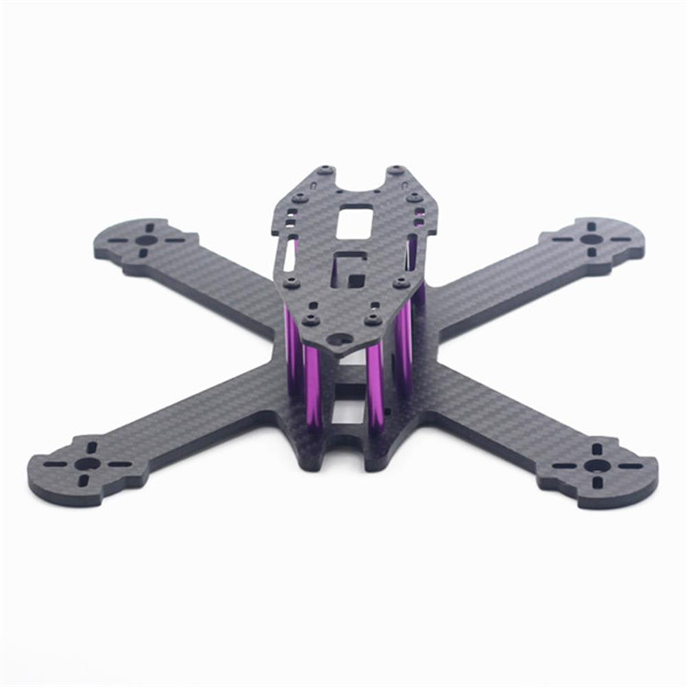 multi-rotor-parts URUAV STAD 210mm Wheelbase 3mm Arm X Type 3K Carbon Fiber FPV Racing Frame Kit for RC Drone RC1371685 2