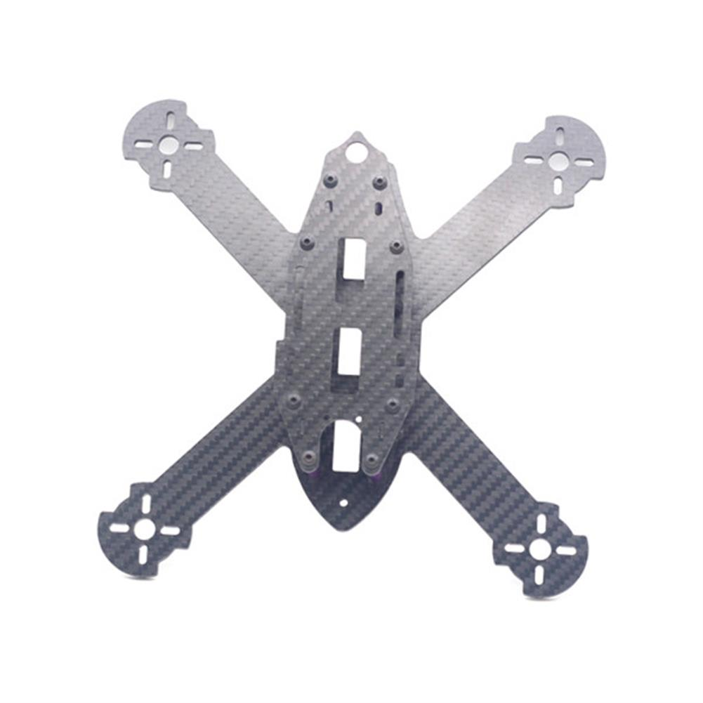 multi-rotor-parts URUAV STAD 210mm Wheelbase 3mm Arm X Type 3K Carbon Fiber FPV Racing Frame Kit for RC Drone RC1371685 3