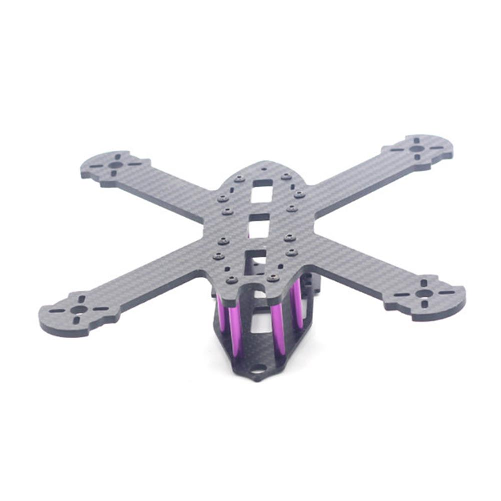 multi-rotor-parts URUAV STAD 210mm Wheelbase 3mm Arm X Type 3K Carbon Fiber FPV Racing Frame Kit for RC Drone RC1371685 4