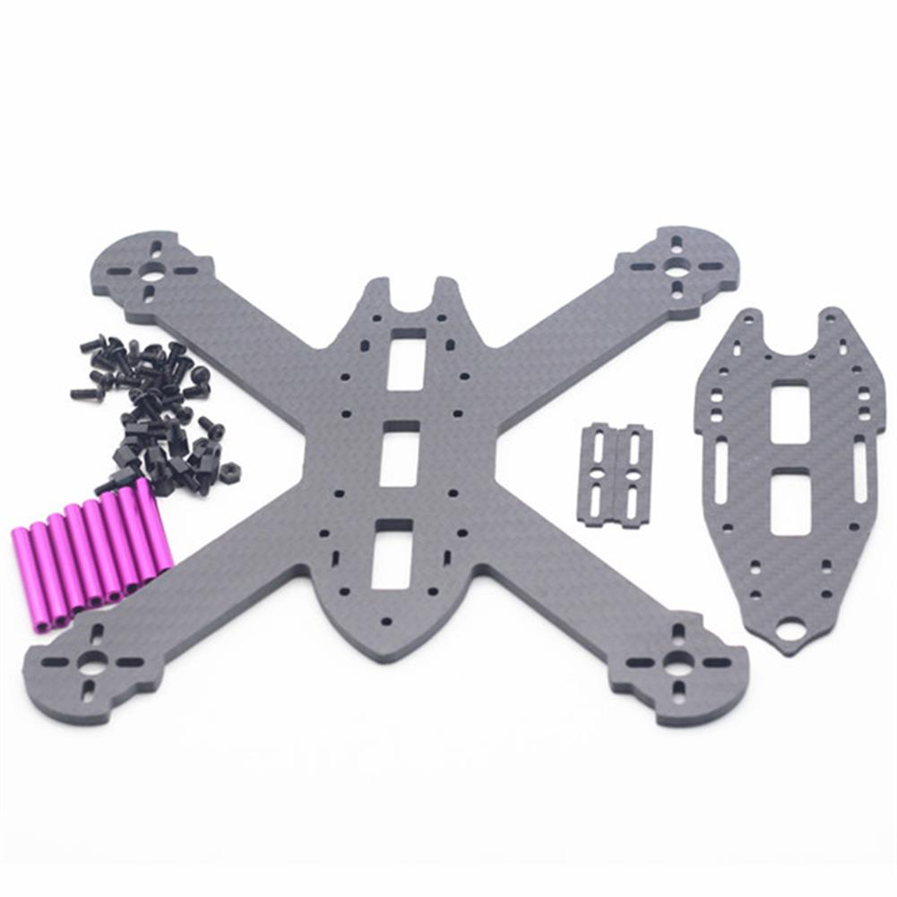 multi-rotor-parts URUAV STAD 210mm Wheelbase 3mm Arm X Type 3K Carbon Fiber FPV Racing Frame Kit for RC Drone RC1371685 5