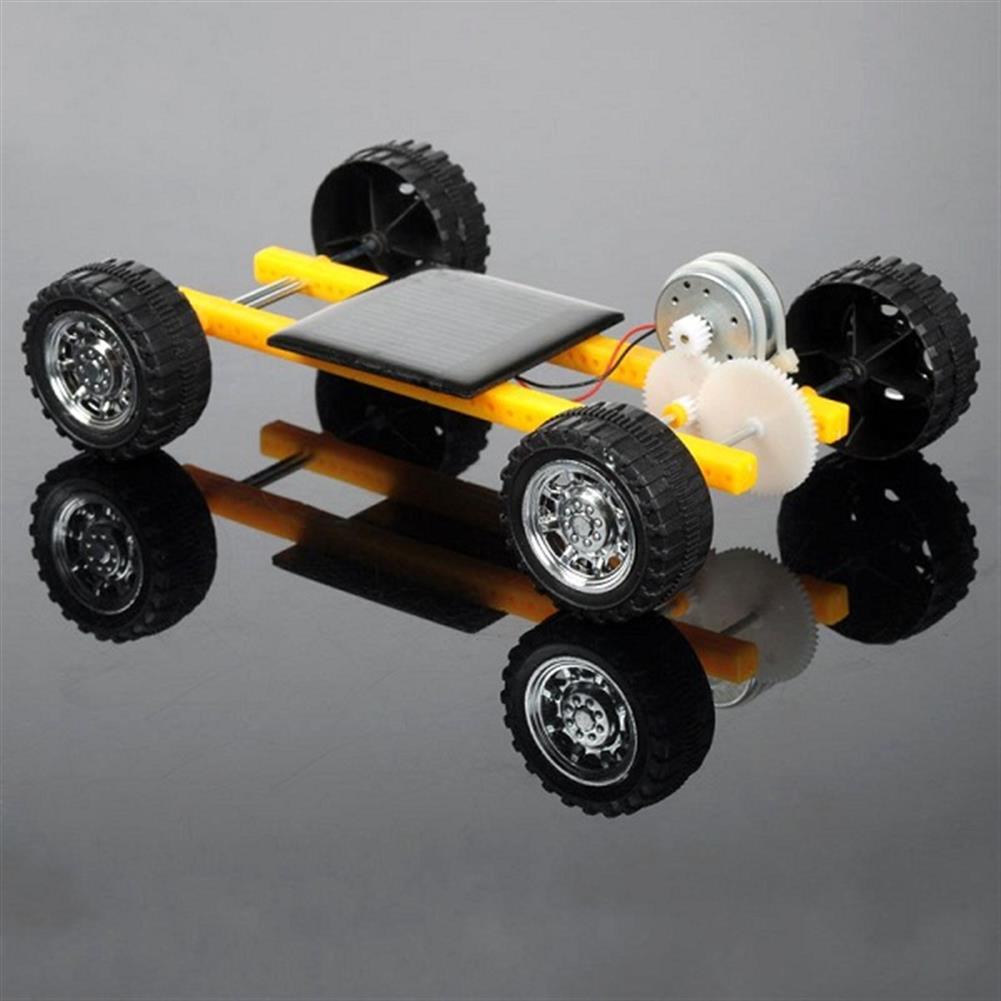 solar-powered-toys DIY Solar Power Toy Mini Car for Children HOB1006024