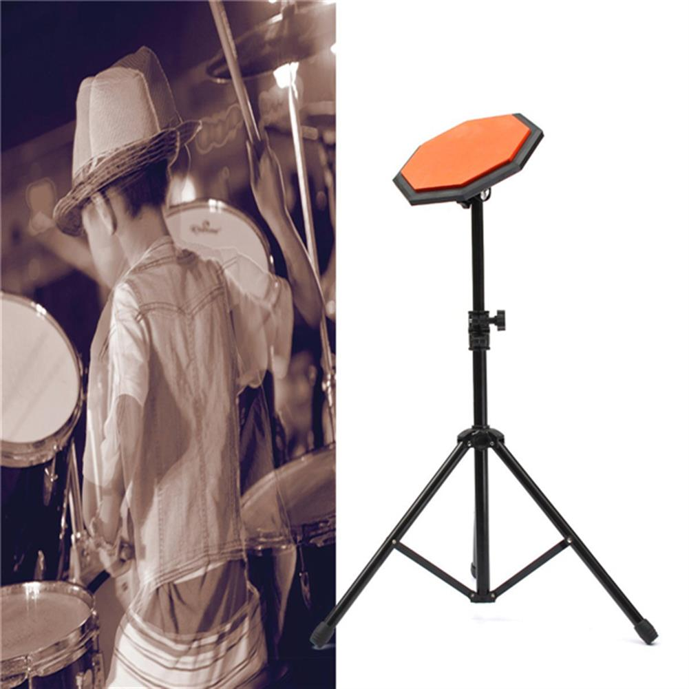 drum-sets 8'' 21cm Rubber Dumb Drum Practice Pads Set with Stand HOB1020557