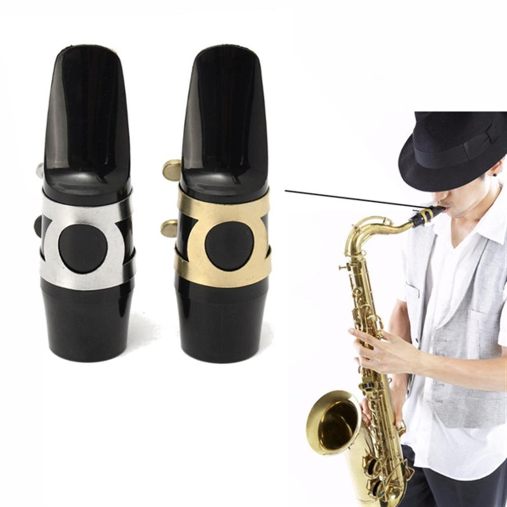 woodwind-brass-accessories Alto Sax Saxophone Mouthpiece with Cap Buckle Reed Patches Pads Cushions HOB1048378