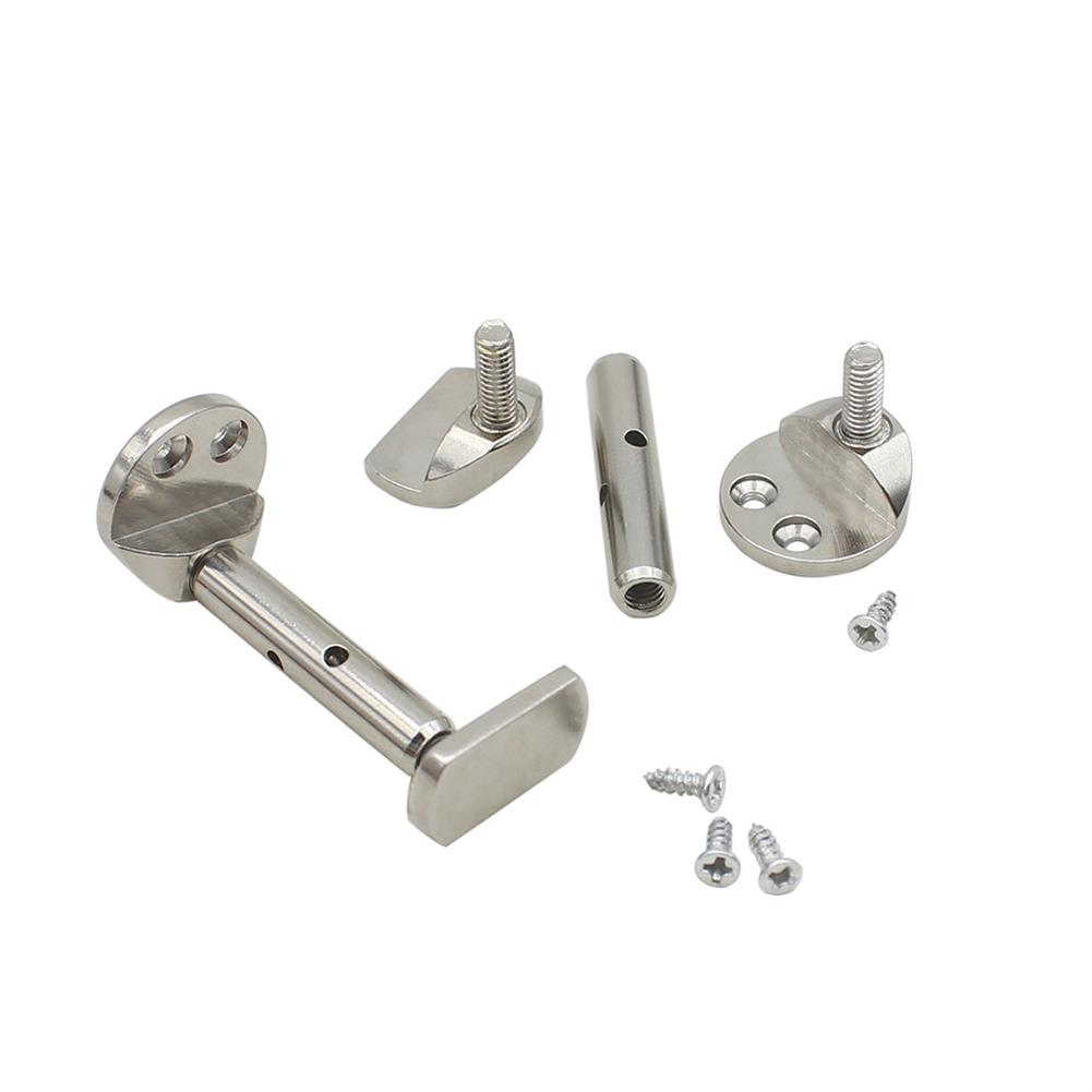 strings-accessories 3/4 4/4 Hill-style Violin Chinrest Screw Full Section Violin Chinrest Screws Silver HOB1049463 1